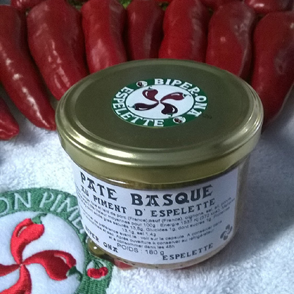 paté basque au piment d'espelette